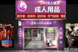 开一家24小时成人用品自动售货机无人售货店怎么样?
